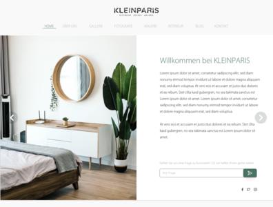 Home   Kleinparis home homepage ui