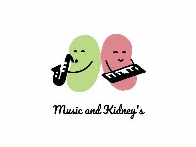 Music And Kidneys - Logo logo beans kidneys music