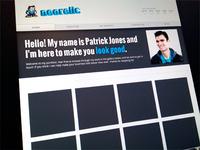 Portfolio redesign portfolio web design 8-bit