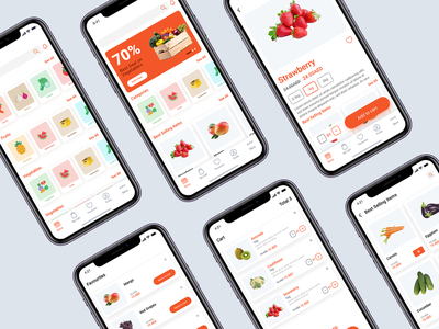 Grocery App - WIP uae app ui ux app ui fruit logo fruits grocery