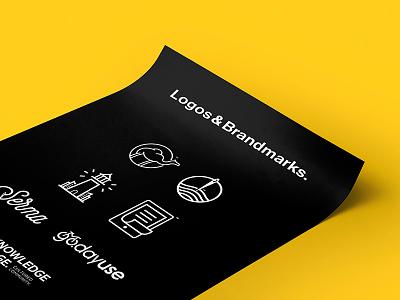 Logos & Brandmarks vol.2 marks. typography egypt logodesign branding logos