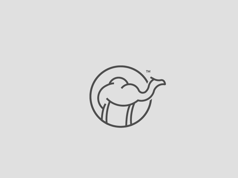 Camel Icon line art lineart animal camel outline