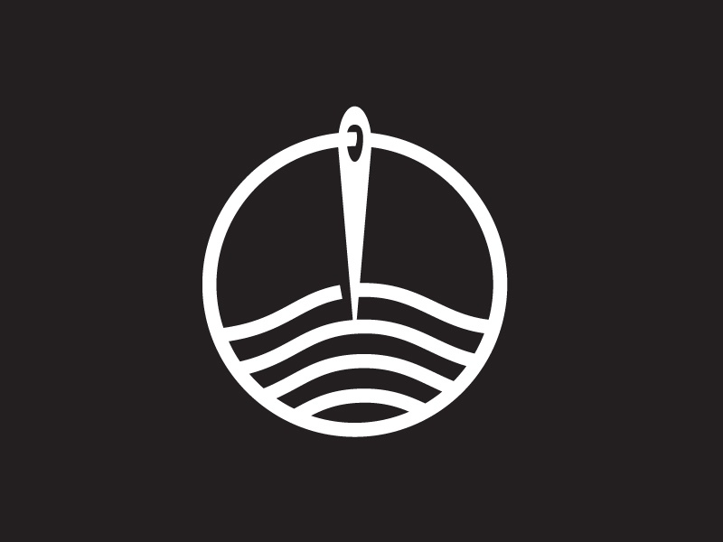 Serma Clothing™ | Branding Identity Development circle lines clothing cloth work needle serma