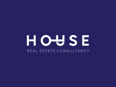 House Logo house branding logo corporate shadow estate real key