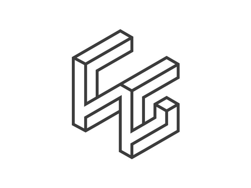 C.N.G Impossible shape impossible shape shape c g n letters letter
