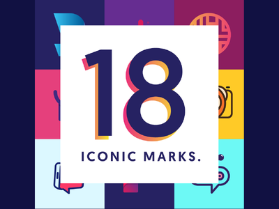 Iconic Marks - 2018 ideas brands logos icons
