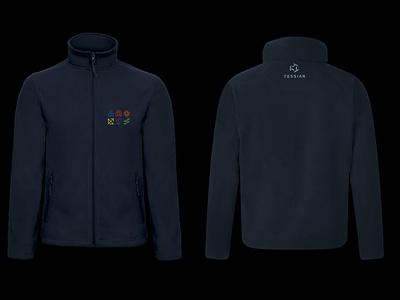 Tessian Brand System — Values Jacket, 2021 startup identity cybersecurity branding b2b merch swag