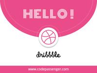 Hello Dribbblers