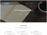 Epoxy Business Landing Page (WIP)