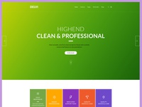 Web Design for Corporate Business (WIP)