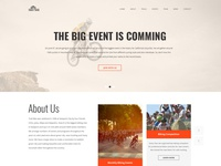 Trail Bike and Mountain Biking Clube Theme