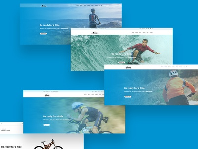UP BIT - Ultimate Sports & Web Elements mtb skating ski minimal team pricing clean shop wind surfing ui kit event winter sports