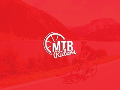 MTB Riders Logo Design club logo bike cycling mountain biking mtb