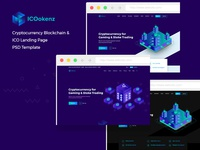 ICO Tokenz - ICO CryptoCurrency Landing Page