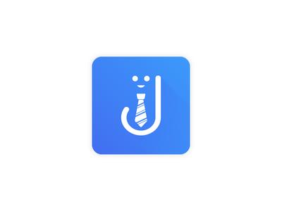 Job Board Product Logo illustration apply online recruiter job manager job site employeer employee job board logo