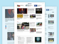 Fairfax Media Regional Website Redesigns