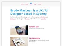 Brody.com Re-redesign