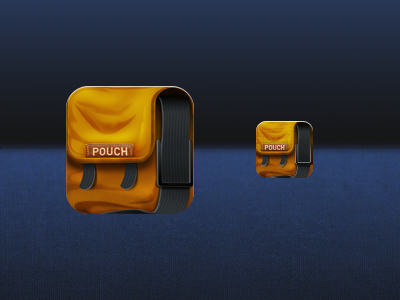 Pouch pouch ios icon messenger bag bag backpack app portfolio