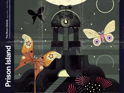Riven—Prison Island modern illustration imaginary fauna riven myst