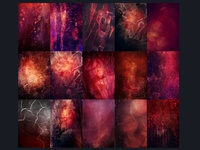 15 Textures - Bloody Red