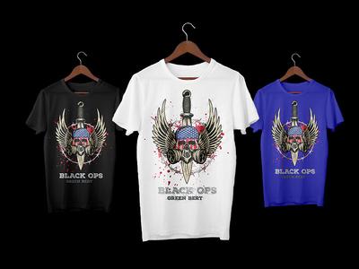 Dribbble Shot 3shirts