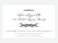 Sylvia Wedding Stationery