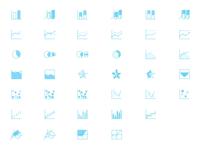 Charts Icons