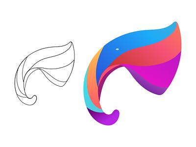 Elephant Logo elephant branding logo animal logo design logo design elephant logo design branding logo 3d ui