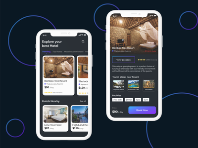 Hotel Booking app clean design hotel mobile app ui hotel booking mobile tourist app tour app booking app booking app ui torist app ui travel app hotel app hotel booking app uiux app design ui design visual design ui screens mobile app design