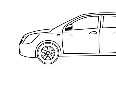 Cobalt vector cobalt car
