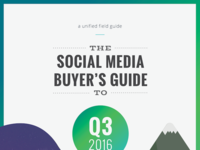 2016 Q3 Social Media Buyers Guide