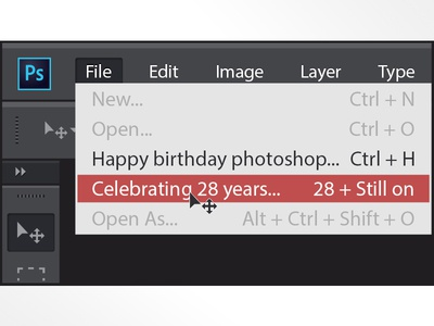 Belated Wishes to our beloved Photoshop - 28 Years and Still on