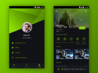 Proposal UI for Android app