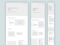 Samsung Developer Conference: Responsive from Wireframes