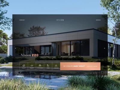 VISION — daytime design interaction interaction animation interaction design web design website danwood vision syzygywarsaw syzygy