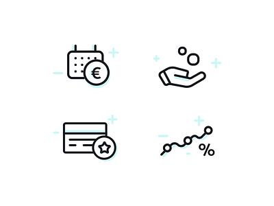 zakelijkbankieren.nl - icons minimal icons pack website icons set icons