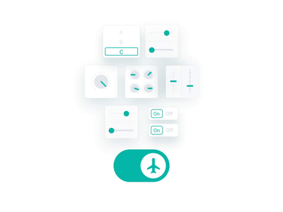 Hotelchamp - Autopilot animation engine machine learning a.i. artificial intelligence ai turn on turn off switch off on widget widgets tools toggle animation motion