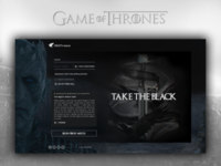 Game Of Thrones - Night's Watch Appliaction