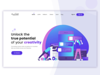 Landing Page Daily Ui 003