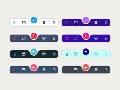 Menu redesign ios mobile ux ui colors pastel menu app