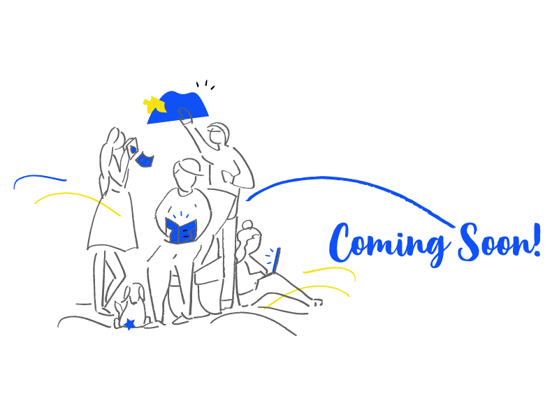 Coming Soon Page Illustration colours uxui design product illustrations