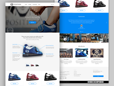 POSITION USA - Client Work ux ui client ecommerce web visual