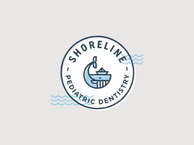 Shoreline Circle Whale
