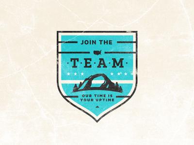 Team Recruitment Campaign Badge