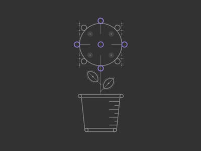 Diagramatic Flower