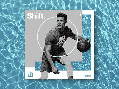 Shift circle gray athlete ball pool water basketball nike tx htx texas houston