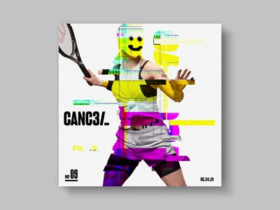 Cancel error smiley face distressed sports tennis player tennis cancel tx htx texas houston