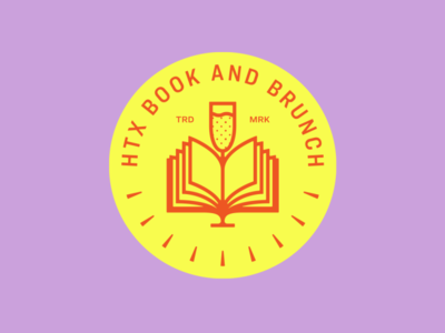 HTX Book and Brunch logo