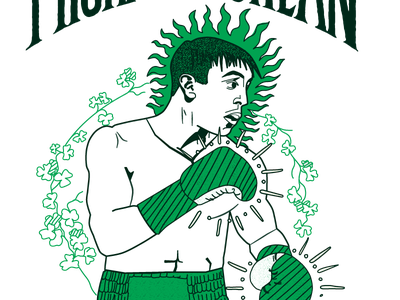 Michael Conlan illustration handdrawn sports illustration boxer boxing illustration