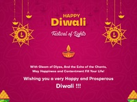 Happy Diwali Greeting 2018